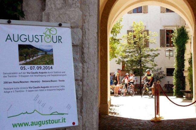 3. Etappe Augustour 2014: Trentiner Volkskundemuseum San Michele