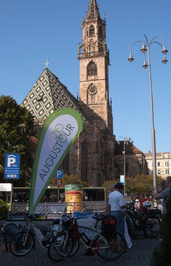 3. Etappe Augustour 2014: Waltherplatz Bozen