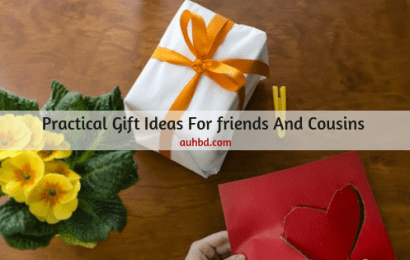 Practical Gift Ideas For Friends And Cousins