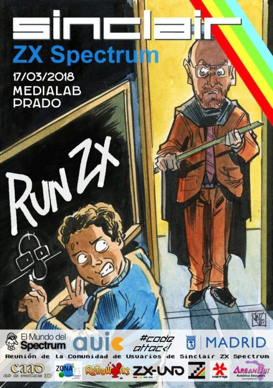 Cartel de la tercera edición de RunZX 2018