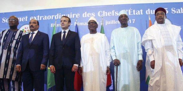 Force G5-Sahel : Réunion des ministres de la défense, ce 15 janvier à Paris