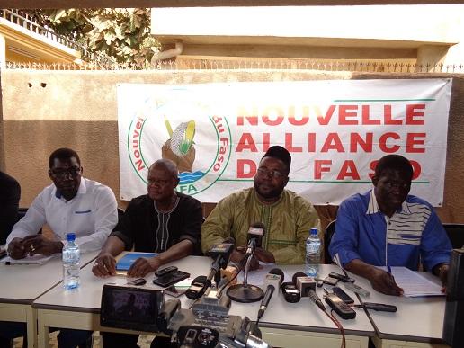 Politique : La NAFA se félicite du procès du 27 février