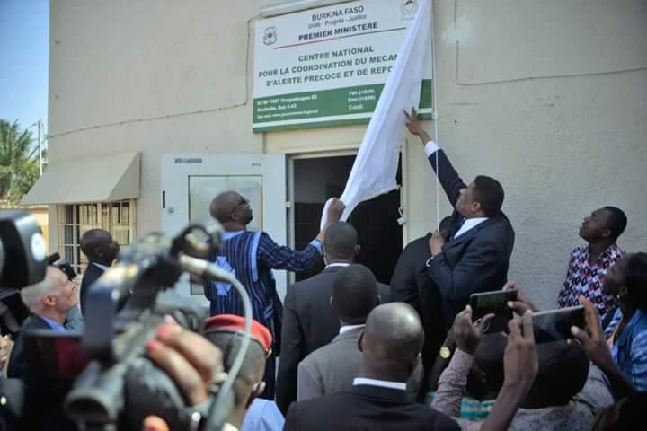 Menaces sécuritaires:  Le Burkina dispose désormais, de son centre d'alerte et de réponse rapide