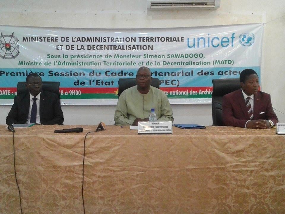 Etat civil au Burkina : Rendre l'enregistrement systématique