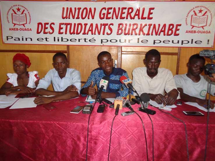 Levée de sanction contre l'étudiant Yénilo Bahan :  L'ANEB-Ouaga s'y arc-boute et menace