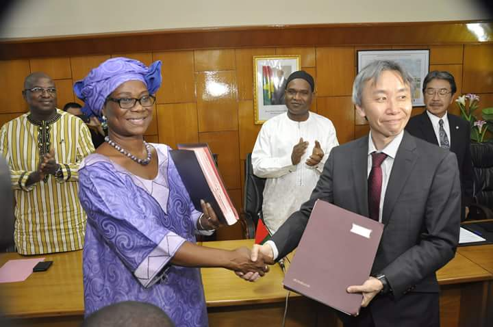 Réhabilitation du tronçon Gounghin-Fada-frontière du Niger : La contribution du Japon est effective