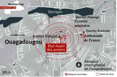 Double attaque à Ouagadougou :Iyad Ag Ghaly a touché le Burkina, mais ne peut le couler!