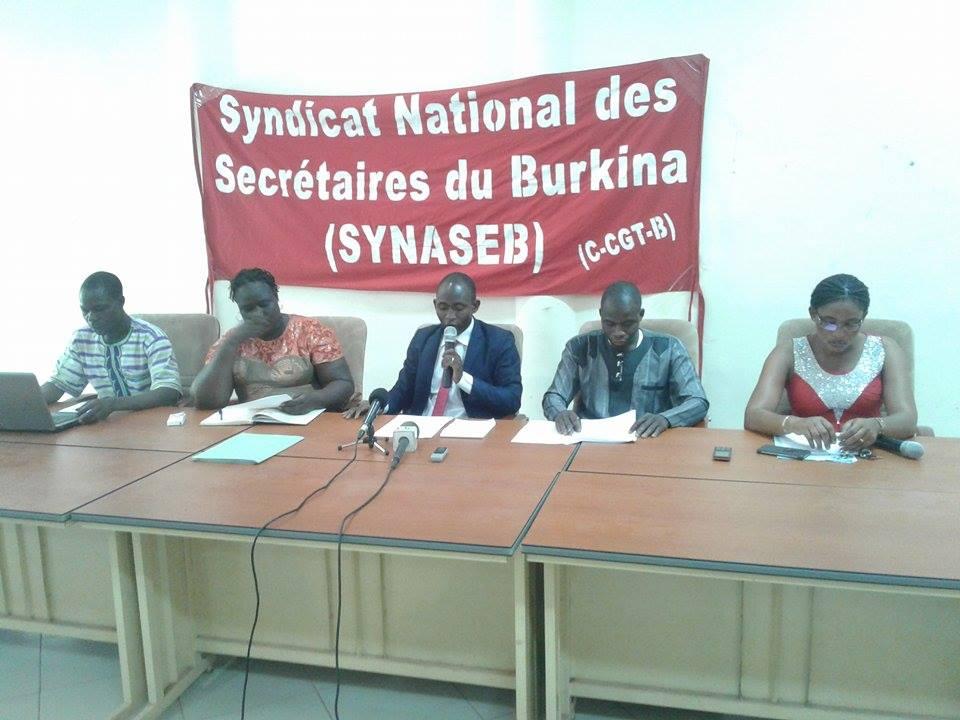 Négociation de protocole d'accord avec le gouvernement :  Le SYNASEB ne veut pas de prêt-à-porter