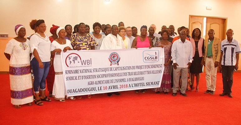 Insertion socioprofessionnelle des acteurs de l'agroalimentaire :  La CSB met le syndicalisme au service du secteur informel