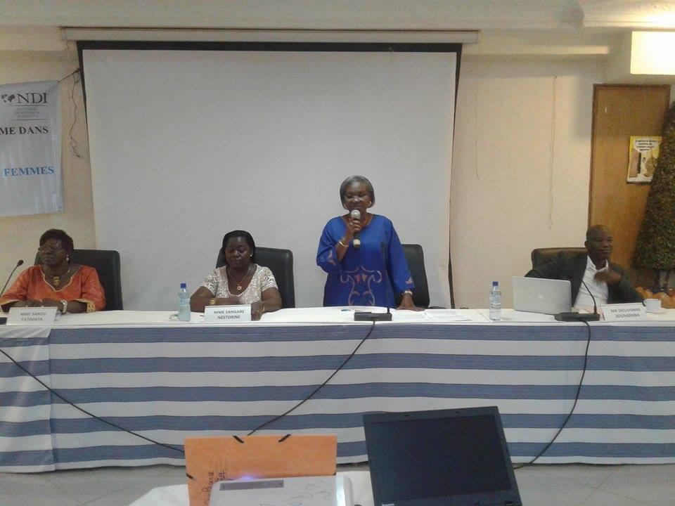 NDI-Genre et affaires publiques :Les femmes veulent plus de pouvoir en 2020