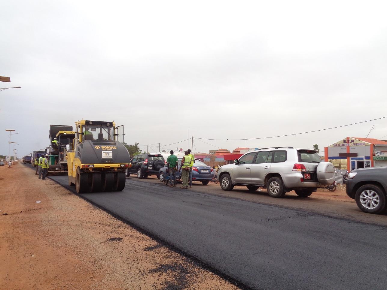 Réhabilitation du boulevard des Tensoba : Satisfecit du ministre Bougouma