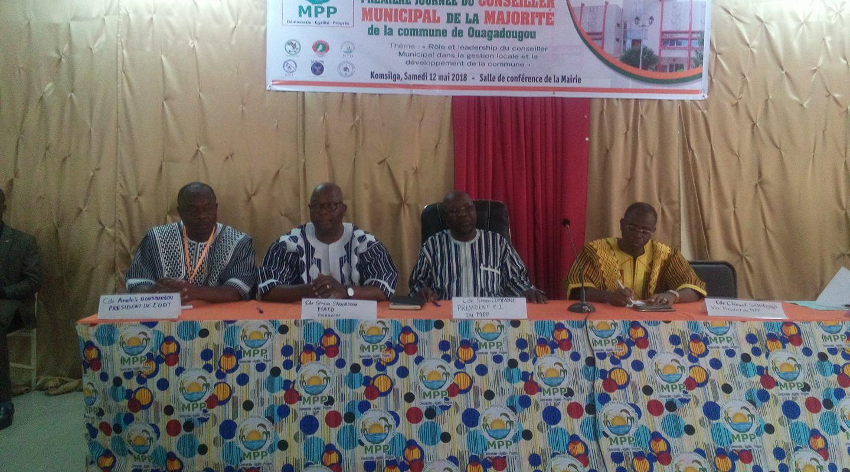 Commune de Ouagadougou : Conclave des conseillers de la majorité à Komsilga