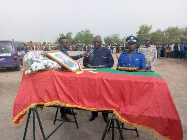 Ouagadougou: le préfet d'Oursi inhumé hier au cimetière de Gounghin