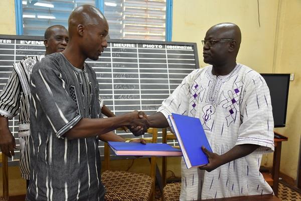 Agence d'information du Burkina: Alban Kini, le nouveau patron voit «grand»