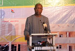 Paul Kaba Thiéba :  «Les nouvelles rémunérations fondent un contrat social»