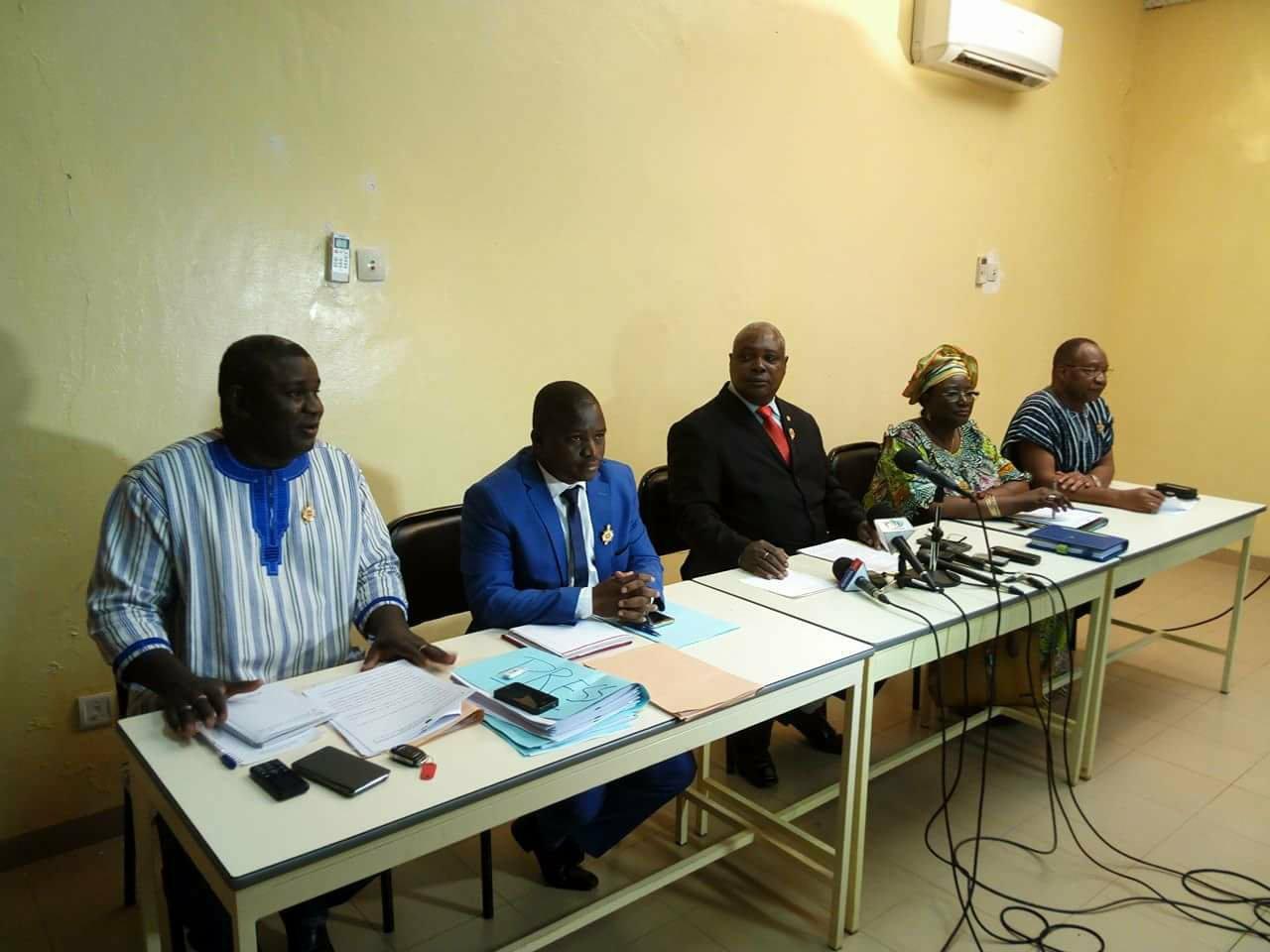 Première session ordinaire 2018 à l'Assemblée nationale : L'UPC/RD a fait le point de sa participation