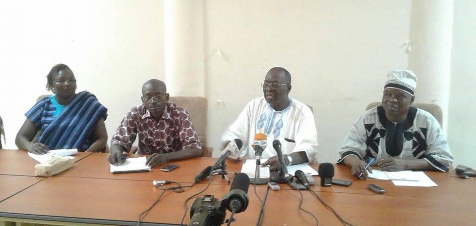 Pissyamba Ouédraogo, SG SYNTSHA: «Le gouvernement ne veut pas du dialogue social»