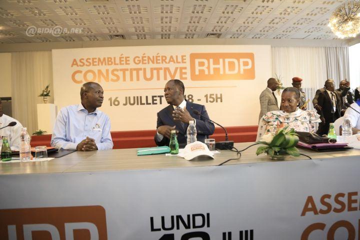 RHDP unifié sans Bédié et Soro: Les conditions d'un «gbangban» fratricide pour 2020?