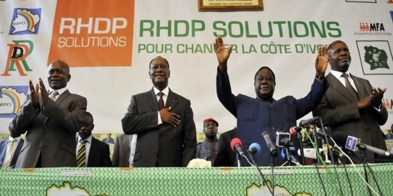 Crise au parti unifié RHDP: Le ver de la division est déjà au PDCI