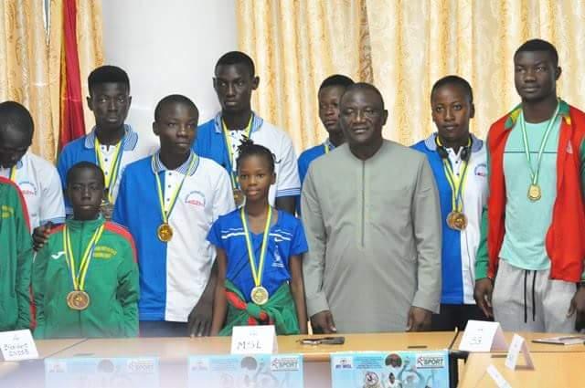 Sports: Daouda Azoupiou salue les performances des athlètes et voshings burkinabè