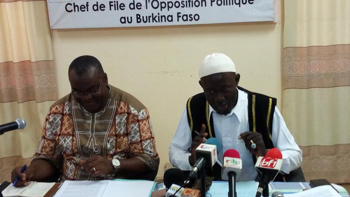 Marche de l'Opposition politique: «Le 29 septembre, Roch et son gouvernement vont sortir de leur doux sommeil»