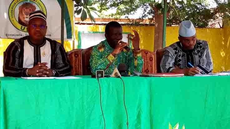 Visite de Newton Ahmed Barry à l'UPC:Le parti maintient sa position sur le Code électoral