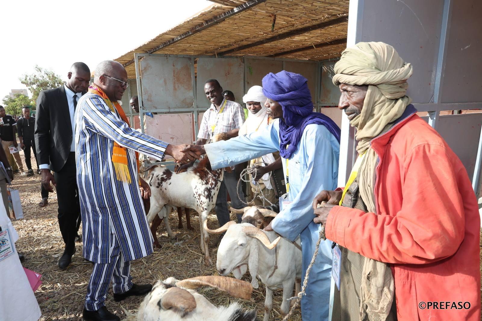 Salon de l'élevage du Burkina: Roch affiche son soutien aux éleveurs