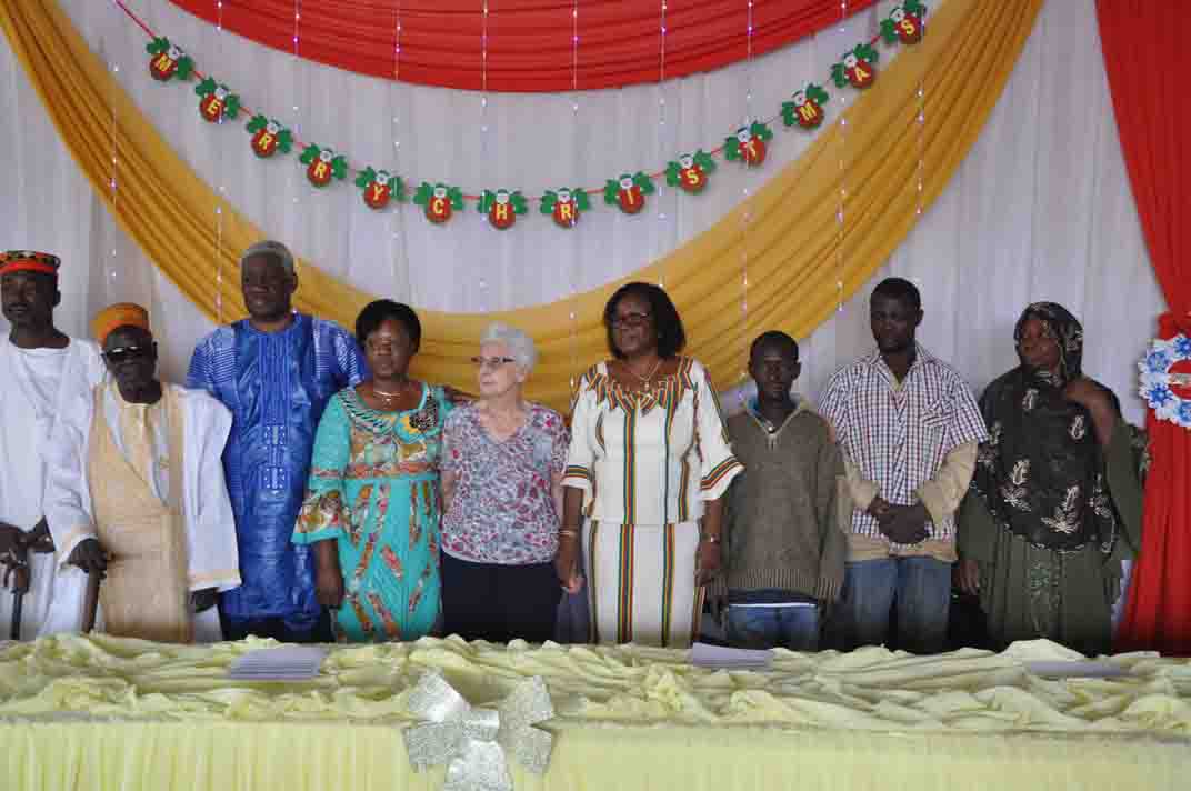 Fête de la Nativité: Papa et maman Karambiri au secours des démunis