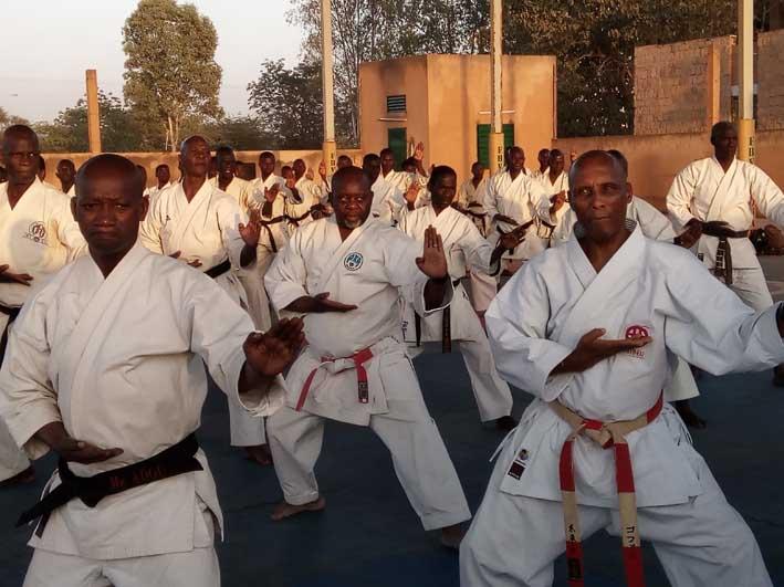 Fédération burkinabè de karaté-do Stage technique: Une semaine de haut niveau!