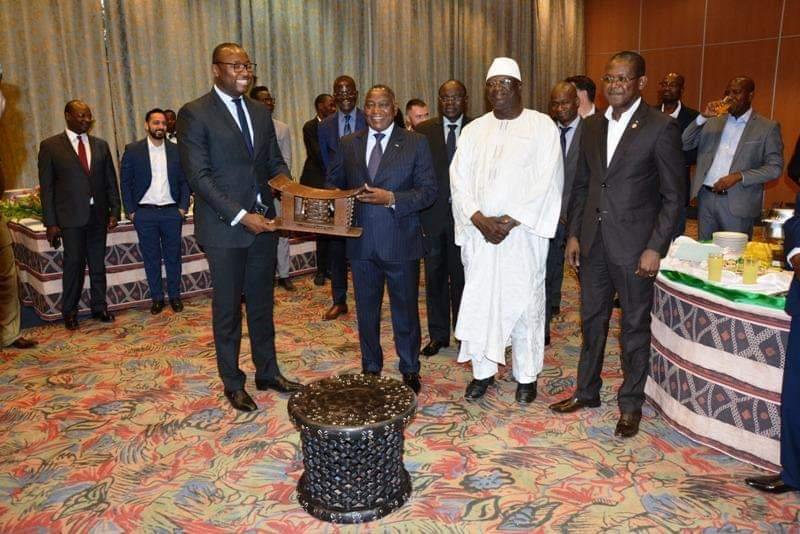 CIDEF: Meilleurs vœux 2019 au président Lassiné Diawara