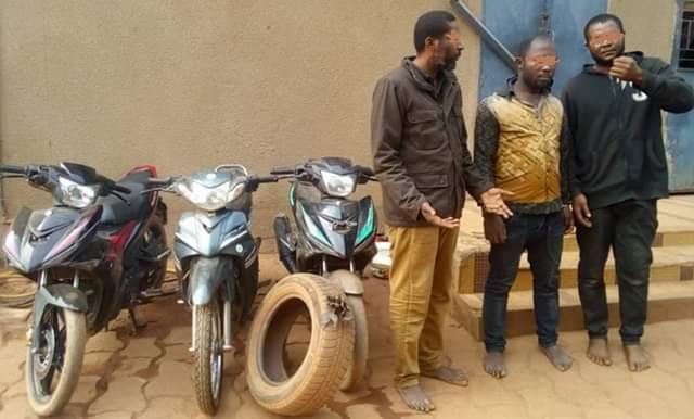 Vol à la roulotte dans la sous-région: La police a mis la main sur les malfaiteurs