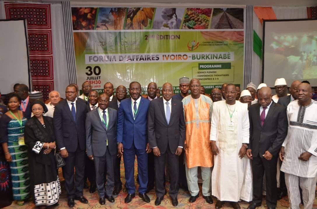 Forum d'affaires ivoiro-burkinabè: Plus de 500 opérateurs économiques en conclave