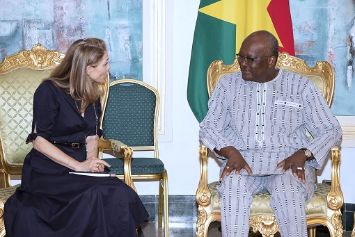 Nutrition des enfants au Burkina : la Princesse Zeid de la Jordanie félicite le gouvernement pour les progrès réalisés