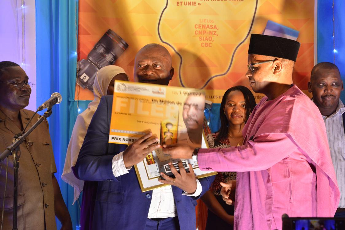 Prix international Norbert Zongo: Serges Daniel du Mali Sebgo d'or