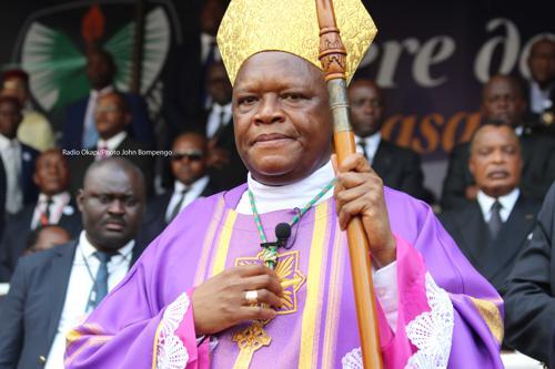 1er sermon du cardinal Ambongo Fridolin: Rideau sur les résultats des élections, Bonjour la nouvelle RD Congo!