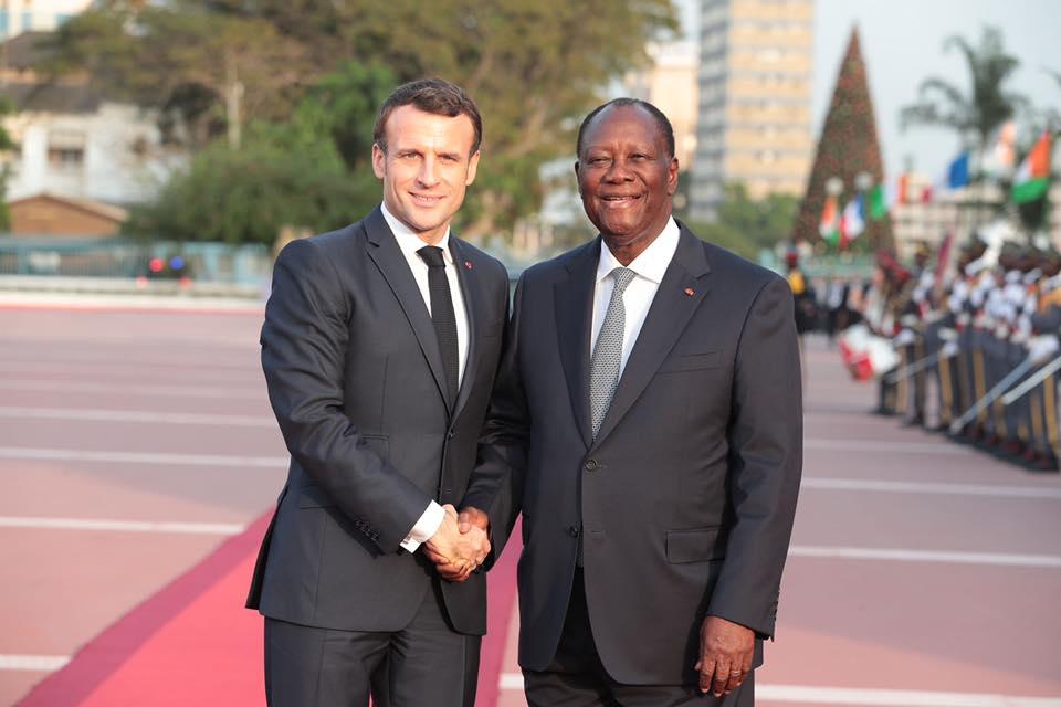 Macron en Côte d'Ivoire: Barkhane-Elections – Bouaké…: séjour studieux d'un N'djakoualé
