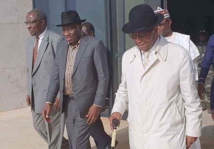 Nicéphore Soglo et Goodluck Jonathan en Guinée-Conakry: Prêcher les législatives pour désamorcer la bombe présidentielle?