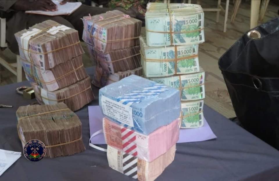 Détournement d'un véhicule de transfert de fonds et de son contenu: la police nationale écourte le plan du nommé Kiemtoré Lassina