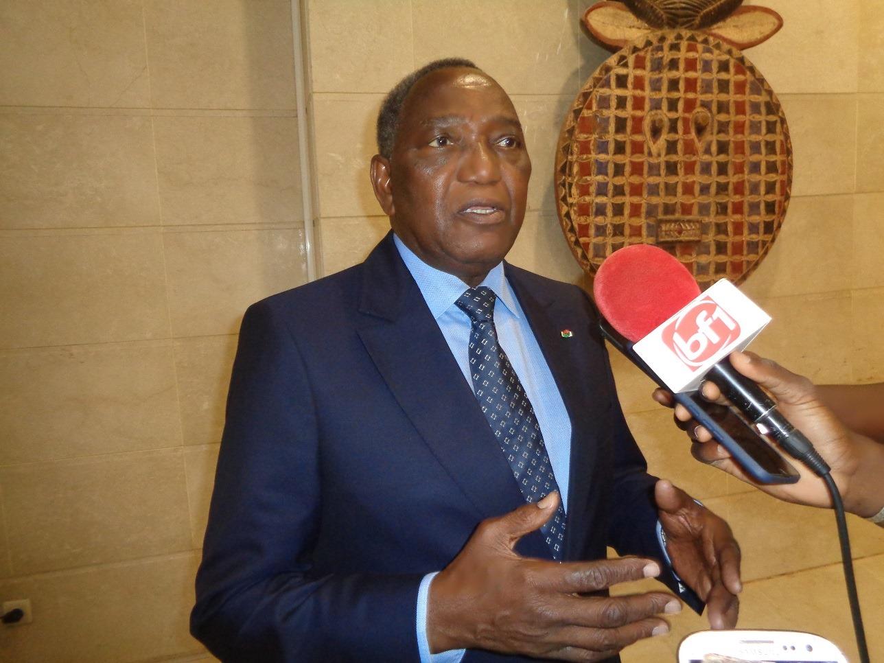 Lassiné Diawara aux membres du CIDEF: «Nous devons être résilients et apprendre à travailler en période de crise»