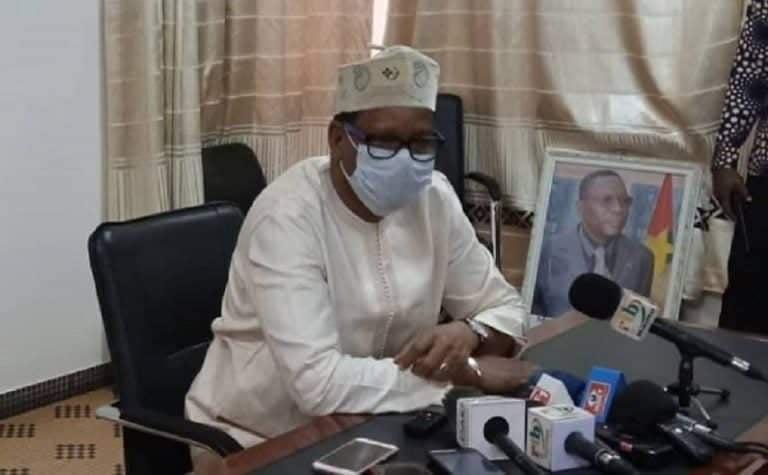 Newton Ahmed Barry, président de la CENI: «Rien n'empêche techniquement les élections de se tenir le 22 novembre»