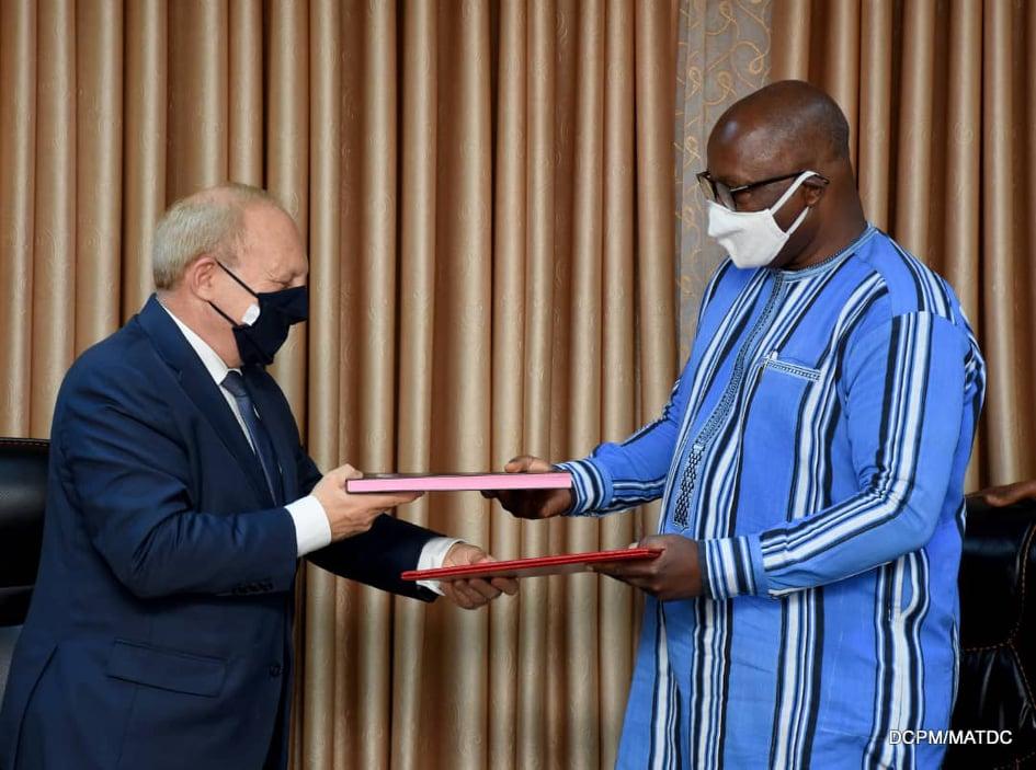 Protection civile : Le Burkina et la France signent deux conventions de coopération