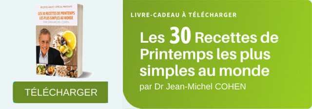 30 recettes de printemps par Jean-Michel Cohen