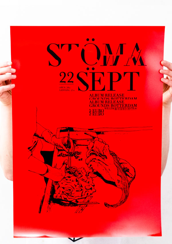 Stoma-Screenprint-red