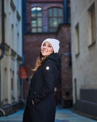 Nål Mariehamn functional wool coat