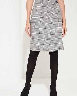 comma jaquard skirt
