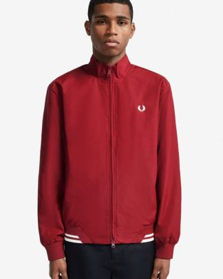 Fred Perry Brentham jacket rosso