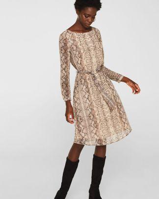 Esprit snake dress