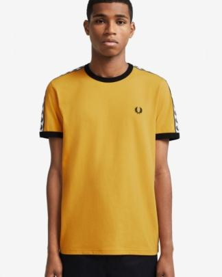 Fred Perry ringer logo tee