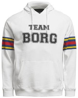 Björn Borg Team Borg Hood White
