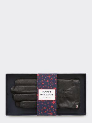 Tommy Hilfiger leather gloves